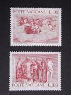 Vatican City 1976 400th Death Anniversary Titian Famous Peple Art Painter Paintings ROMAN Stamps MNH SG#654-655 - Vatican