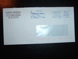 LETTRE EMA VK 843388 à 000,56 Du 05-03-10 ST DENIS D'OLERON (17 CHARENTE-MARITIME) + MAIRIE + PHARE - Phares