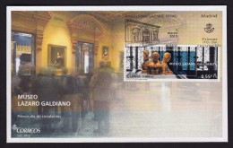 SPAIN ESPAGNE 2015. FDC  LAZARO GALDIANO MUSEUM OF PAINTING AND COLLECTING - Arte