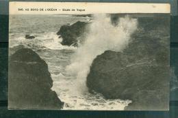 N°240 - AU BORD DE L'océan - étude De Vague   - Raj96 - Halt Gegen Das Licht/Durchscheink.