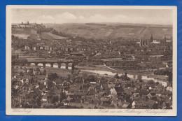 Deutschland; Würzburg; Blick Aus Der Richtung Heidingsfeld - Würzburg