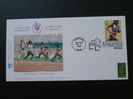 FDC USA Jeux Olympiques Olympic Games Atlanta 1996 100m Femmes Ref 50854 - Zomer 1996: Atlanta