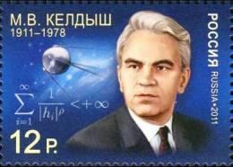 Russia 2011 Scientist Keldysh Space 1v MNH - Russia & USSR