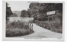 LYON ARTISTIQUE - N° 425 - EMBARCADERE POUR LA TRAVERSEE DU LAC - Ed. MOUSSY - CARTE FORMAT CPA NON VOYAGEE - Lyon