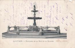 Leuven, Fontaine De La Rue De La Station (pk17797) - Leuven
