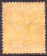 British Virgin Islands 1883 SG #26 ½d MNG Perf.14 Wmk Crown CA Yellow-buff CV £85 - British Virgin Islands