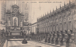 Leuven, Louvain, Ste Gertrude, Les Stalles (pk17802) - Leuven