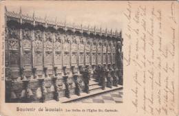 Leuven, Louvain, Les Stalles De L´Eglise Ste Gertrude (pk17805) - Leuven