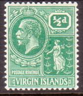 British Virgin Islands 1922 SG #86 ½d MNH OG! - British Virgin Islands