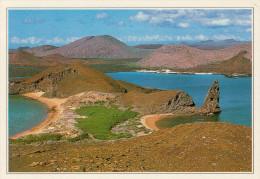ECUADOR  GALAPAGOS:  L'ISOLA BARTOLOMEO   (NUOVA CON DESCRIZIONE DEL SITO SUL RETRO) - Ecuador