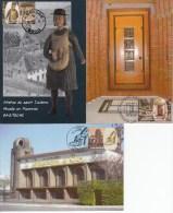 Maximumkaarten, Nr 3845/3847, Schoenen, Chaussure (6230) - Cartoline Maximum