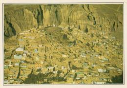 BOLIVIA   LA PAZ:  CASE ALLA BASE  DEL VULCANO      (NUOVA CON DESCRIZIONE DEL SITO SUL RETRO) - Bolivia