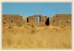 BOLIVIA   TIAHUANACO:  SITO  ARCHEOLOGICO    (NUOVA CON DESCRIZIONE DEL SITO SUL RETRO) - Bolivia