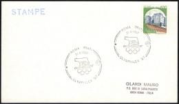 OLYMPIC - ITALIA ROMA 1987 - OLYMPHILEX ´87 - ANNULLO 31.08.1987 - CARD - Summer 1988: Seoul