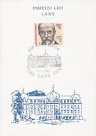 J0871 - Czechoslovakia (1992) Commemorative Sheet / Lany: 600 Years Of Village (Tomas G. Masaryk - Death Anniversary) - Blocks & Sheetlets