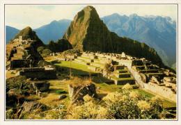 PERU�    MACHU-PICCHU   LA FAMOSA  CITTA'  INCA       (NUOVA CON DESCRIZIONE DEL SITO SUL RETRO)