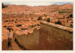 PERU�   CUSCO:  SCORCIO DELLA CITTA' ALTA       (NUOVA CON DESCRIZIONE DEL SITO SUL RETRO)