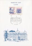 J0872 - Czechoslovakia (1992) Commemorative Sheet / Lany: 600 Years Of Village (Jan Masaryk - Birth Anniversary) - Blocks & Sheetlets