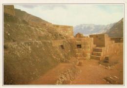 PERU�  PISAC:   ROVINE  INCAS      (NUOVA CON DESCRIZIONE DEL SITO SUL RETRO)