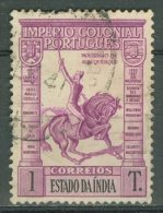PORTUGAL - COLONIAS - INDIA 1938: YT 375 / Af. 353, O - FREE SHIPPING ABOVE 10 EURO - Portuguese India