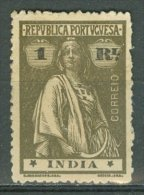 PORTUGAL - COLONIAS - INDIA 1913-21: YT 306 / Af. 254, (*) Nsg - FREE SHIPPING ABOVE 10 EURO - Portuguese India
