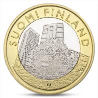 FINLAND FINLANDE FINNLAND 5 EURO ANIMALS PROVINCES - UUSIMAA HEDGEHOG 2015 - Finland