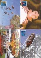 Maximumkaarten, Nr 4115/4124, Kermis, Foire (6245) - Maximum Cards
