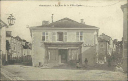 Gondrecourt - La Rue De La Ville-Haute (Café Du Commerce, Tabac) - Gondrecourt Le Chateau