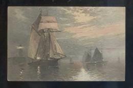 Ed. C. W. Faulkner & Co. Ltd. Circulada 1921. - Segelboote