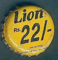 Kronenkorken SRI LANKA >LION RS22/-< CAPSULES USADO - GEBRAUCHT - Capsules & Plaques De Muselet