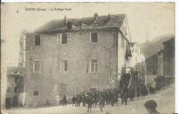 CORTE - Collège PAOLI - Cachet Militaire - (petit Pli Dans Un Angle) - Corte