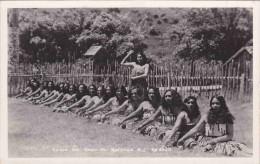 CPSM CANOE POI MAORI PA ROTORUA N - Z N° 4328 - New Zealand