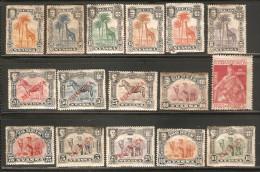 16 Timbres Colonies Portugaises ( Nyassa ) - Nyassa