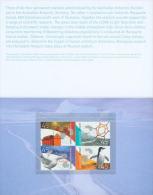 Australian Antarctic Territory (2002) - Booklet* - Territoire Antarctique Australien (AAT)