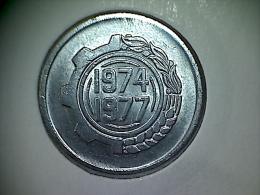 Algérie 5 Centimes 1974 - Argelia