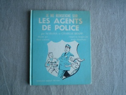 Je Me Renseigne Sur Les Agents De Police Martha Charles Shapp  Costanza  Grolier 1971 Québec. Voir Photos. - Boeken, Tijdschriften, Stripverhalen