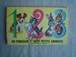 1 2 3 Un Pingouin Et Neuf Petits Animaux Relief Pop-up Piccoli Milan Collection Gentiane N° 1 . Voir Photos. - Boeken, Tijdschriften, Stripverhalen