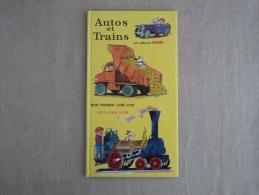 Rare Album Scarry Autos Et Trains Texte Muriel.  Deux Coqs D´or 1967 E O . Voir Photos. - Boeken, Tijdschriften, Stripverhalen
