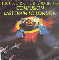 The Electic Light Orchestra ELO - Confusion - Last Train To London (45 T - SP) - Vinylplaten