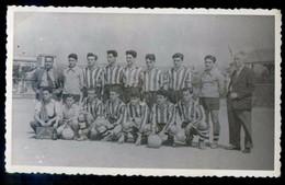 Foto Anónima. Equipo De Fútbol. - Deportes