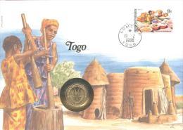 Numisbrief  1988 - Togo