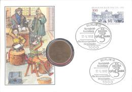 Numisbrief  DDR XX Jahre 5 Mark - [10] Commemorative