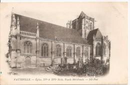 Vatteville - Eglise XVième & XVIième, Façade Méridionale - Sonstige Gemeinden