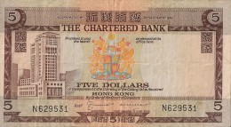 Billets - Hong Kong - 5 Dollars - - Hong Kong