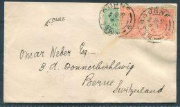 1905 Australia Victoria Melbourne - Berne Switzerland Cover - 1850-1912 Victoria