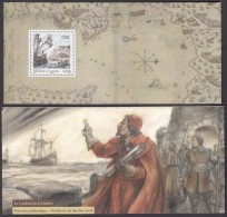 """[3/6]  FRANCE CANADA 2008 JOINT ISSUE MNH Souvenir Sheet In A Special Folder """"Le CARDINAL De RICHELIEU - Joint Issues"""