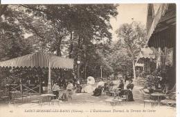 Saint-Honoré-les-Bains - L'Etablissement Thermal, La Terrasse Du Casino - Saint-Honoré-les-Bains
