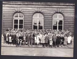 Photo Ancienne Groupe Studio Reporter Phot Galerie Bordelaise Bordeaux Archives Famille Hetet Brest Ploudaniel Brigognan - Personnes Anonymes