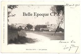 66 - ELNE - Vue Générale +++ Société Pyrénéenne S. H. M., #19 ++++++++ Vers Lodève, 1903 +++ RARE - Elne