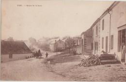 CPA BELGIQUE YZEL Route De La Gare Du Chemin De Fer - Chiny